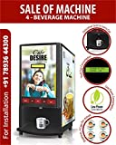 Cafe DESIRE Coffee & Tea Vending Machine - 4 Lane