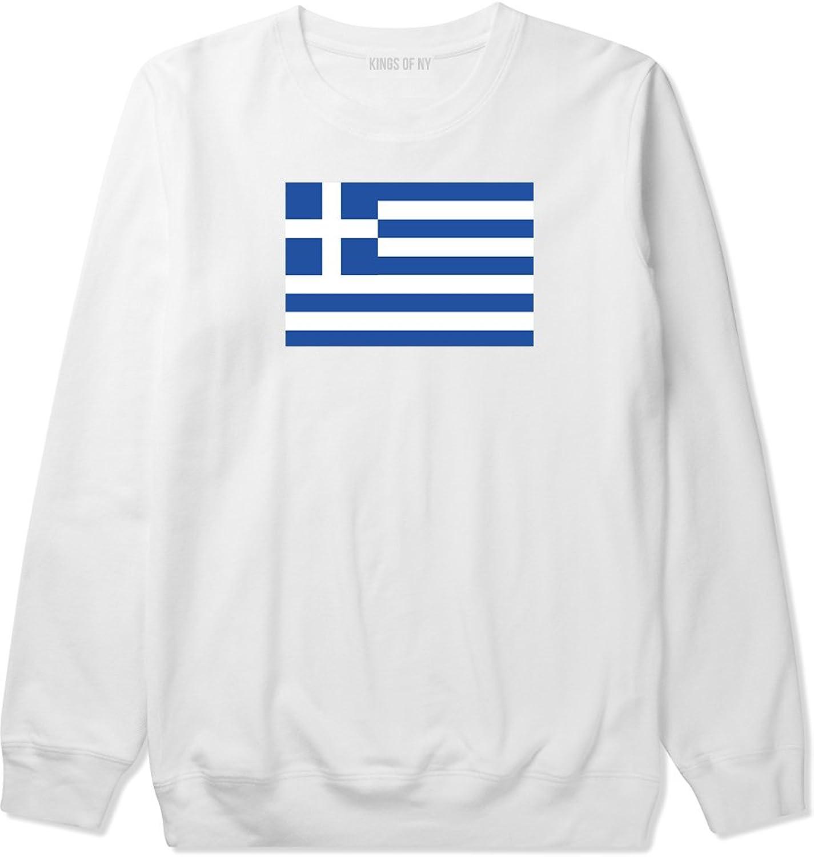 925f32ed2 Kings Of NY Greece Greece Greece Flag Country Crest Crewneck Sweatshirt  ad8e40