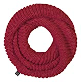 Brandit Hombres Bufanda Loop Knitted Bordeaux