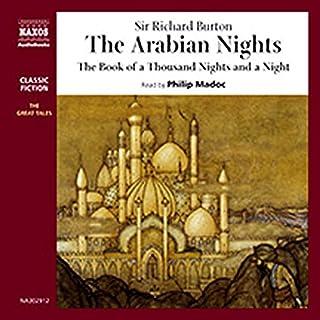 The Arabian Nights audiobook cover art