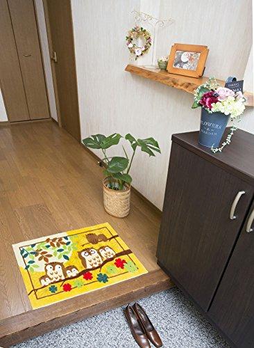 三喜工業『幸福の「七福ろう」玄関マット』
