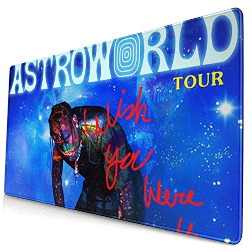 Astroworld Travis Originally Tour 2020 Susahpayah Tapestry Large Video Game Office Game Learning School Gift Computer Lock Edge Table Mat Competitive Mouse Pad.