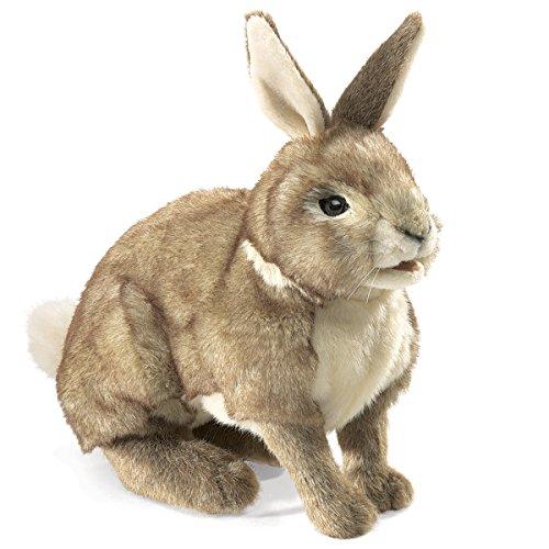 Folkmanis Cottontail Rabbit Hand Puppet