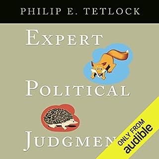 Expert Political Judgment audiobook cover art