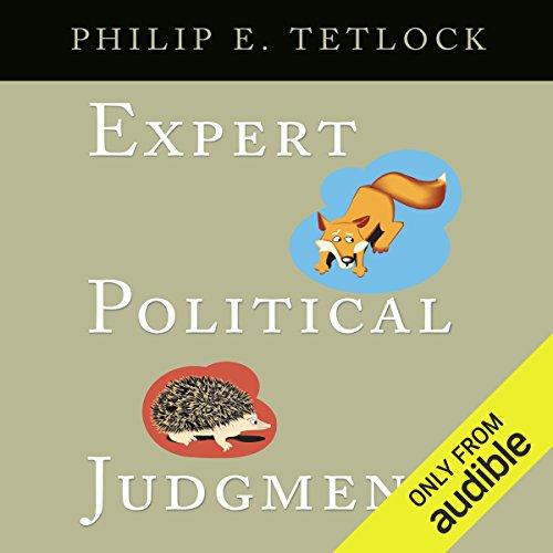 Couverture de Expert Political Judgment
