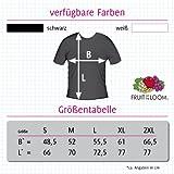 T-Shirt mit Städtenamen – i Love Garz/Rügen – Herren – unisex – schwarz L - 3