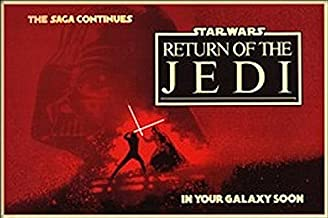 Buyartforless Star Wars The Saga Continues Return of The Jedi 36x24 Movie Art Print Poster
