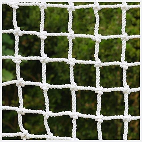 JFFFFWI Garden Netting Balcony Stair Safety Protection For Kids,Used For Cargo Net Garden Plant Decoration Anti-cat Isolation Fence Outdoor Obstacle Lattice (Size : 2 * 2M(6.6 * 6.6ft))