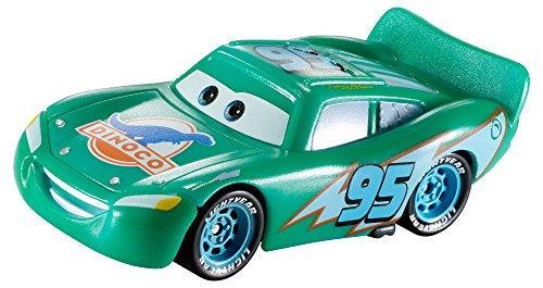 Cars 3 - Vehículo Rayo Mcqueen Dinoco Cambio De Color, Coche De Juguete, Multicolor (Mattel T2953)