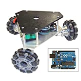 SuperDroid Robots Programmable Triangular Omni Wheel Vectoring Robot - IG32 DM