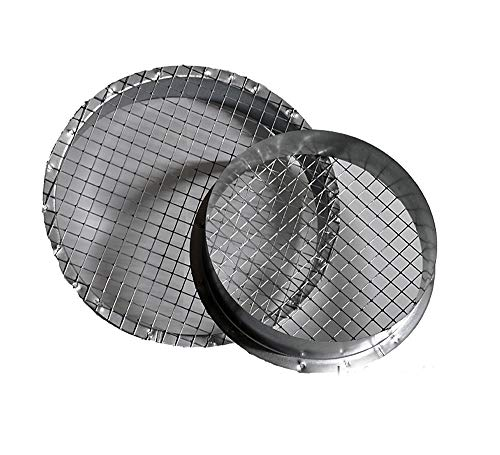 Bundkragen mit Vogelschutz Berührungsschutz Laubschutz Schutzgitter NW 250mm