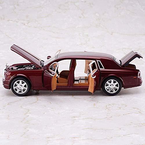 Modelo de coches para niños Escala 1:24 del modelo del coche, Phantom simulación de aleación Diecast Car Model, tirón ligero del modelo del coche de juguete Coches Niños Juguetes Colección Sound &