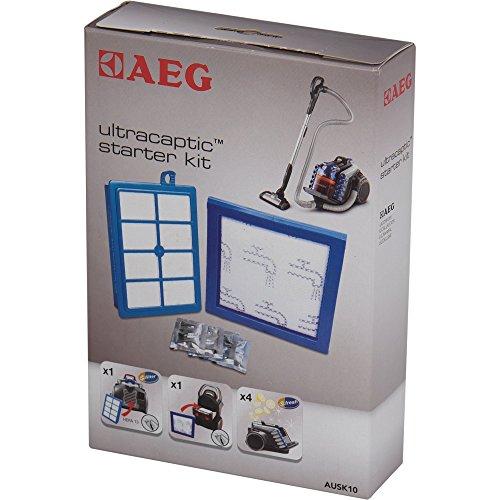 AEG AUSK 10 Kit de démarrage pour Ultra Captic avec filtre, filtre de moteur et filtre HEPA 13