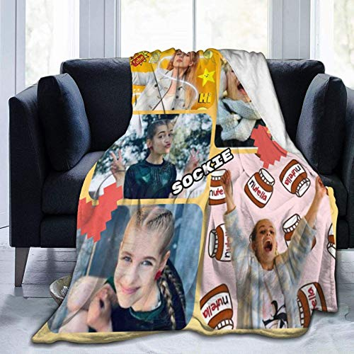 Hengtaichang No-Rris Nuts Luxury Flannel Fleece Blanket Lightweight Soft 3D Printed Warm Blanket for Sofa,Bed,Room 50' X40