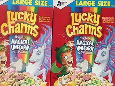 Lucky Charms - Juego de 2 abalorios de gran tamaño