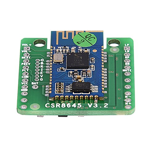 Tihebeyan Bluetooth 4.0 Stereo Verstärkerplatine, CSR8645 APT X, Digitaler HiFi Audioempfänger mit 2 Kanälen für Autolautsprecher