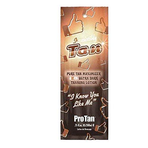 ProTan Irresistibly Tan 20 XX Ultra Dark Pure Tan Maximiser Tanning Lotion