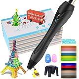 3D Stylo d'Impression:Dessiner en 3D, c'est désormais possible grâce au stylo 3D, Le stylo 3D est un outil innovant et amusant qui plaira autant aux enfants et aux bricoleurs amateurs qu'aux vrais artistes. Il aide à booster la créativité et permet d...