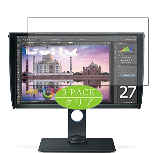 Vaxson - Protector de pantalla compatible con BenQ Monitor SW271 de 27 pulgadas, HD, protector de película [no vidrio...