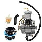 Carbhub PZ20 Carburetor for Kazuma Baja 50cc 70cc 90cc 110cc 125cc TaoTao 110B NST SunL Ch...