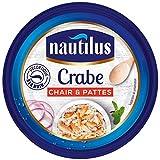 NAUTILUS - Crabe Chair Et Pattes 105G - Lot De 3
