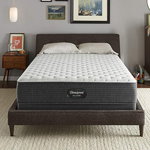 Beautyrest Silver BRS900 12 inch Extra Firm Innerspring Mattress, King, Mattress Only