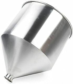 SHZICMY Entonnoir de cuisine de qualité supérieure en acier inoxydable - Grand volume - Pour machine de remplissage de liq...
