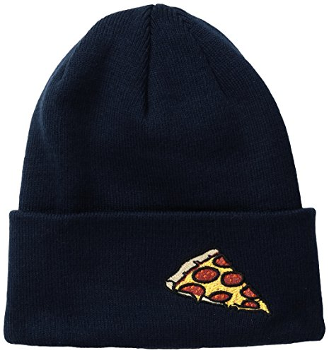 Coal Men's The Crave Fine Knit Cuffed Beanie Hat, Navy, One Size
