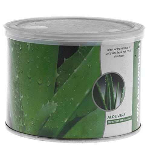 Sharplace 400g Perle de Cire à Epilation Pelable Epiler Poils des Aisselles/Zone Bikini/Corps sans Bande sans Douleur Hard Wax Beans sans Allergie - Saveur d'aloès