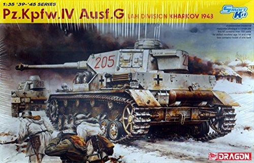 Dragon - D6363 - Maquette - Panzer IV AUSF G Lah - Echelle 1:35