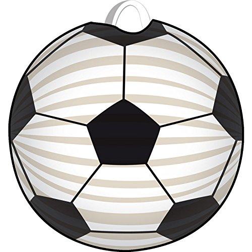 PARTY DISCOUNT Lampion Fussball, Ø 22 cm, 1 Stück