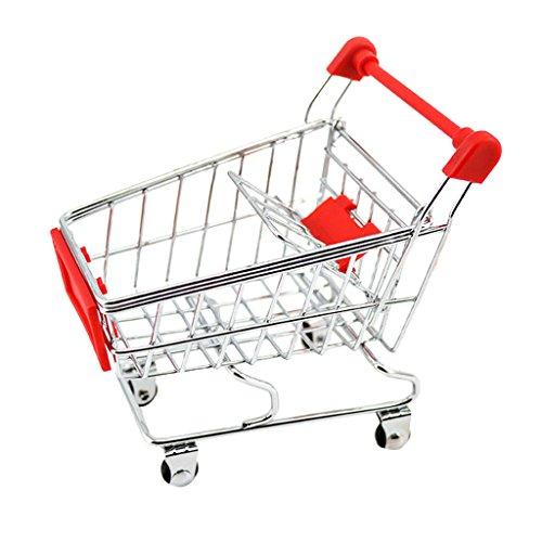 SM SunniMix Kinder Rollenspiel Supermarkt Einkaufstrolley Einkaufswagen...
