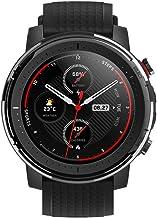 Amazfit Stratos 3 Smartwatch Fitness | 19 Modos Deportivos| 3 Modos GPS | 70 días Batería (Ahorro) | Sensor BioTracker | Notificaciones Inteligentes | GPS Globass Beidou & Galileo (Profesional)