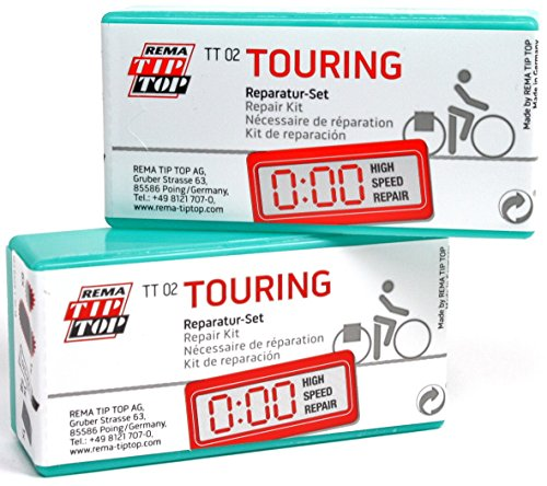 Rema Tip Top TT02 Touring Bicycle Tube Repair Patch Kits #22 (3 Pack)