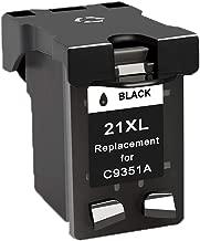 Teng® 21XL 22XL - Cartuchos de Tinta remanufacturados HP 21 22 Cartuchos de Tinta compatibles con HP Deskjet F4180 F2280 F380 F2180 D2460 D2360 3940 D1460 D1530 HP PSC 1410 HP Officejet 4315