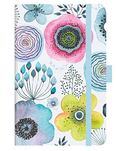 PT Small Aquarellblüten 272719 2019: Buchkalender - Terminplaner mit hochwertiger Folienveredelung und Prägung. 9 x 14 cm
