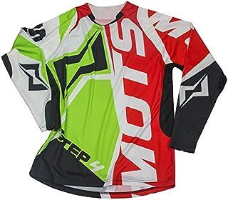 Rojo Talla S Mots MT2107SR Trial Rider 2 Camiseta