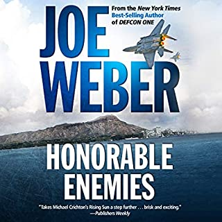 Honorable Enemies audiobook cover art