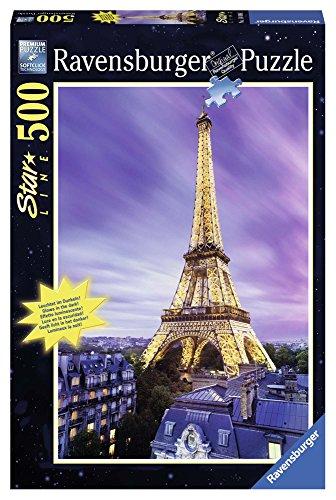 Ravensburger Puzzle 14898 - Funkelnder Eiffelturm - 500 Teile