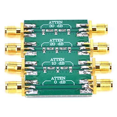 Stabiler Widerstand zur Verbesserung der Impedanzanpassung Hochfrequenz-Abschwächer, SMA-HF-Abschwächer mit doppeltem Buchsenkopf, für elektronische Geräte zur Druckregelung