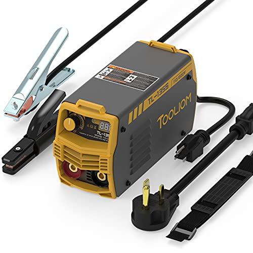 TOOLIOM 135A 110V/220V Stick Welder MMA ARC Welder Machine DC Inverter Welder with Digital Display Portable Welding Machine