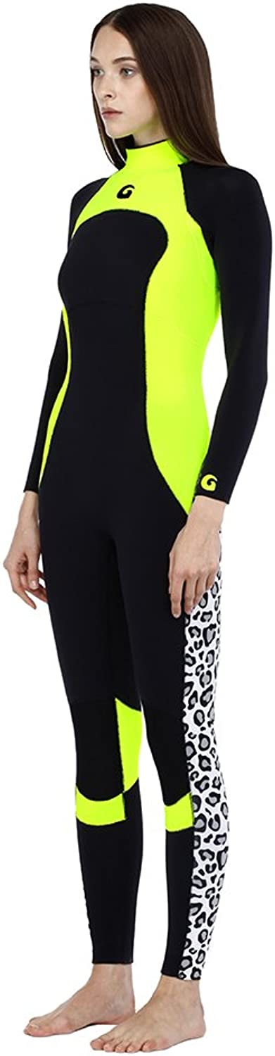 Glidesoul Women's Collection Full Back Zip Wetsuit