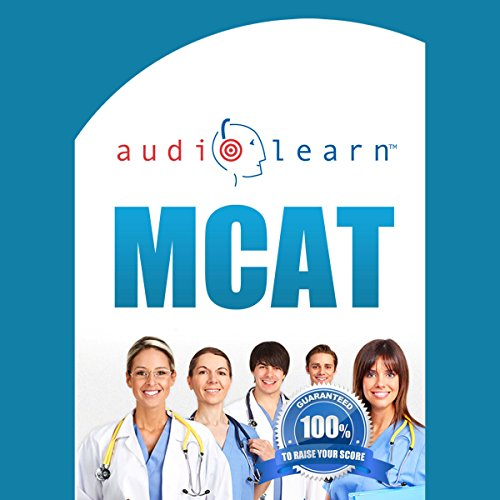 MCAT AudioLearn audiobook cover art