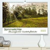Sommerlichter - Stimmungsvolle Landschaftsbilder (Premium, hochwertiger DIN A2 Wandkalender 2022, Kunstdruck in Hochglanz): Ausdrucksstarke und Farbenfrohe Landschaftsfotografien (Monatskalender, 14 Seiten )