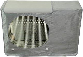 VOSAREA - Funda protectora para aire acondicionado al aire libre (74 x 54 x 26 cm), color gris