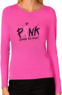 Pink Breast Cancer Awareness Spread The Hope Long Sleeve T-Shirt