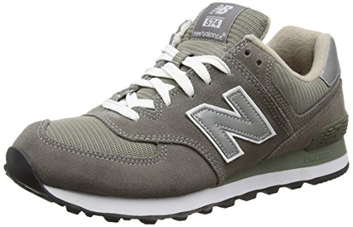 New Balance New Balance Herren 574 Core Low-Top, Grau, 44.5 EU