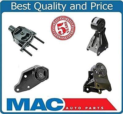 Mac Auto Parts 36490 Engine Motor Transmission Mount Kit For 1999-2002 Nissan Quest Mercury Villager 3.3L Automatic 4 Piece Kit