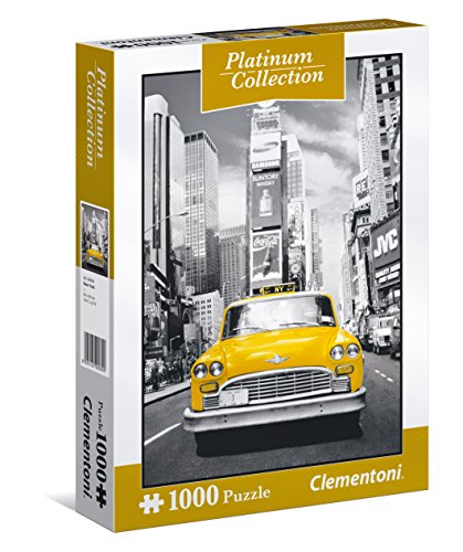 Clementoni- New York Puzzle Platinum Collection, Multicolore, 1000 Pezzi, 39398
