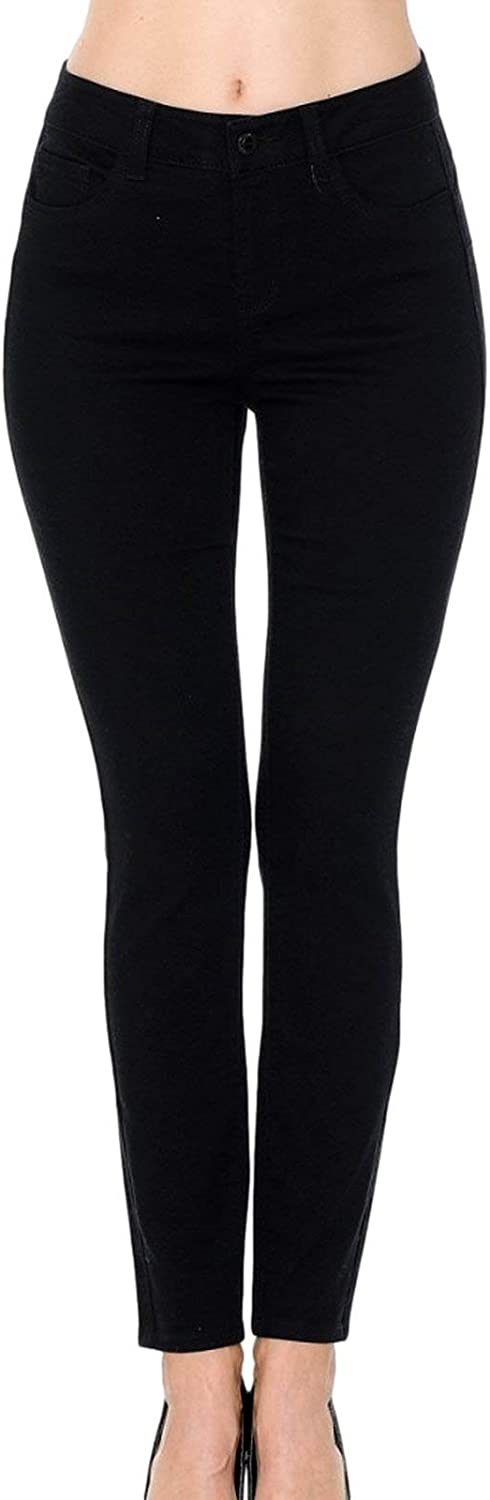 wax jean Push-Up High-Rise Twill Color Pants